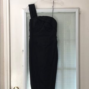 Cache one strap dress! Need a seamstress